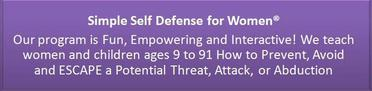 Simple Self Defense for Women®